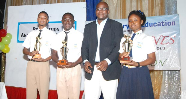 Central High wins J.O.F. Haynes Debating Competition