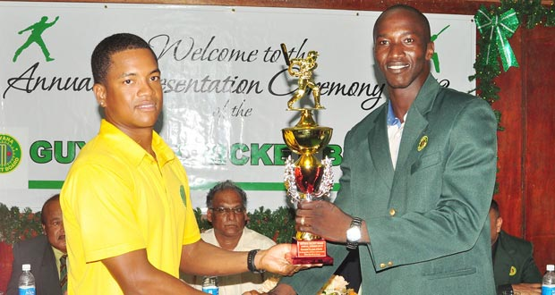 GCB Senior Chairman of Selectors charges players to represent country with pride