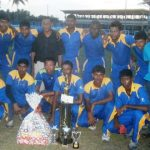 Albion lift Balram Shane trophy after Bishoo's superb 128