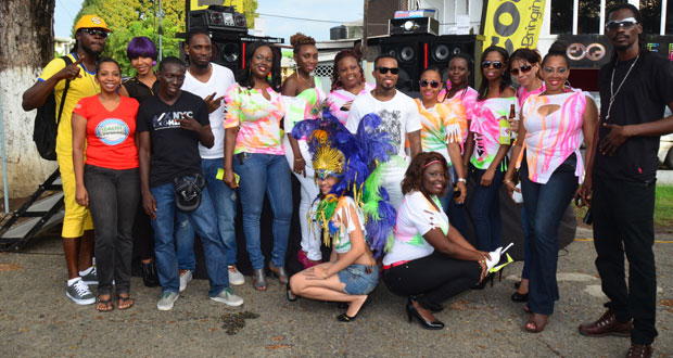 Courts (Guyana) launches Mash 2014 band