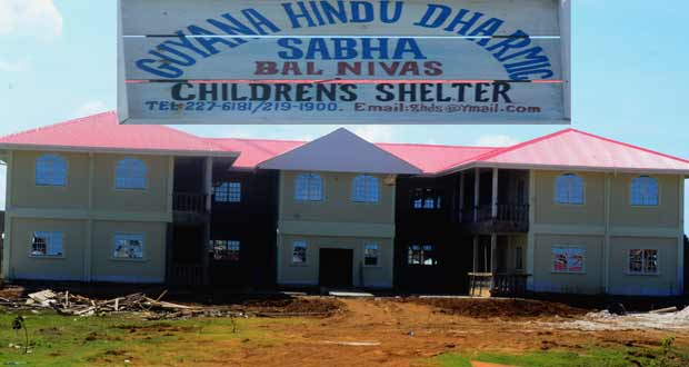 Called 'Bal Nivas'… Dharmic Sabha erecting humanitarian shelter at Port Mourant