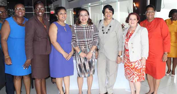 On Int'l Women's Day…Minister Manickchand hosts luncheon for women in education