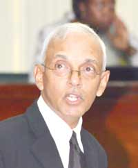 Communities Minister, Ronald Bulkan