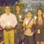 GINA's staff holds vigil- in face of budget rejection