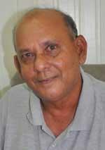 Mr Tota Mangar, one of Guyana's leading historians
