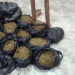 Suspects abandon ganja and flee upon spotting marine police