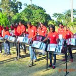Steelbands delight hundreds at Botanical Gardens –with sweet 'pan' music
