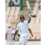 Johnson hits fifty half-century  on debut as Windies take honours