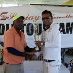 SANJAY'S CLASSIC GOLF TOURNAMENT  Bhagwandin, Mohamad and Tiwari receive golden golf clubs