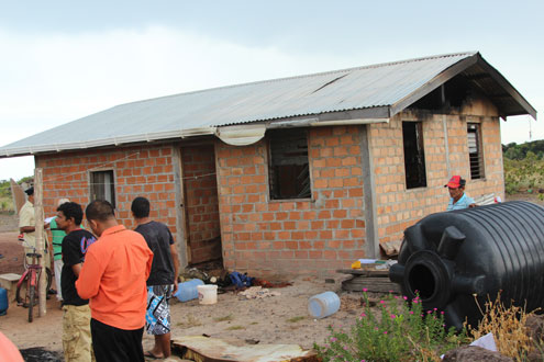 Lightning sets Lethem house on fire –two of six children hospitalised