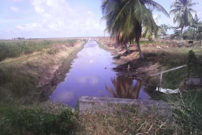 Abundant waterways….