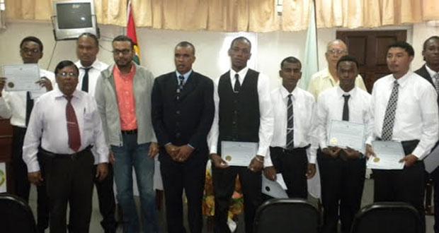 Eight new Land Surveyors sworn in