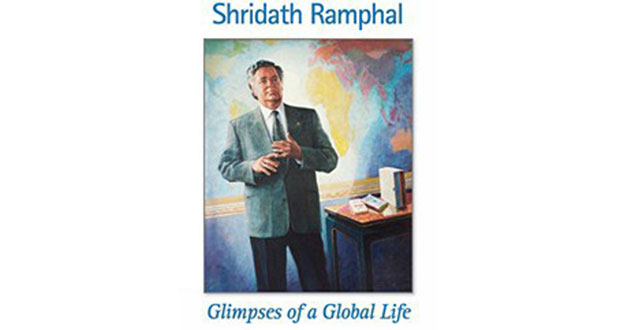Sir Shridath Ramphal to launch memoir 'Glimpses of a Global Life' – at Georgetown Club this evening