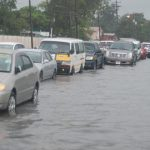 Havoc in G/T as… Torrential rains flood City – businesses affected, traffic impeded – Public Schools remain closed today