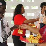 GTA accords incoming passengers Christmas welcome, Guyanese style