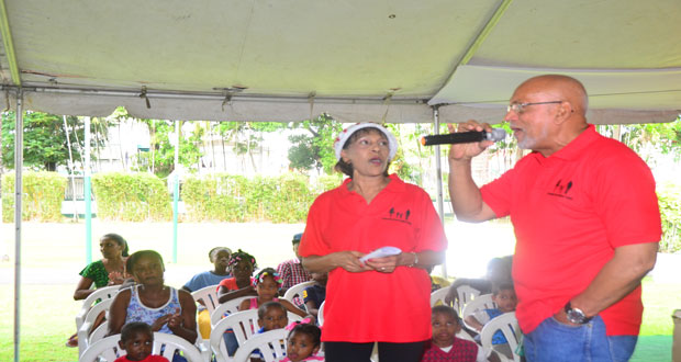 State House pulses with peals of infectious laughter –as President, First Lady fete children for Christmas