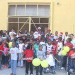 Ansa McAl fetes East Coast children
