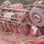 Two killed as truck topples on Linden/Lethem road
