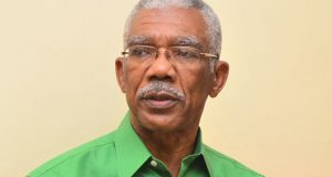 Opposition Leader, Brigadier (rtd) David Granger