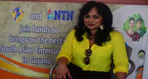 'Desi Girl' in Guyana for launch of NTN Radio 89.1FM in Berbice