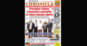 Guyana Chronicle E-paper 28.02.2015