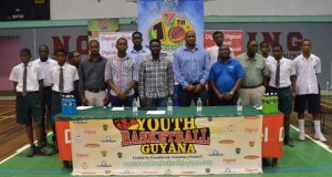 The YBG's National School Basketball Festival is officially launched yesterday.