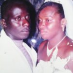 Mr and Mrs Boodie on their wedding day