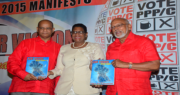 PPP/C launches Manifesto 'Guyana 2.0'… : President Ramotar assures nation: 'We will deliver!'