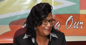 PPP/C Prime Ministerial candidate, Ambassador Elisabeth Harper