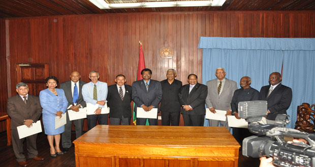 Ramjattan is Vice President, Minister of Public Security …as Head of State Granger swears in nine more Cabinet Ministers