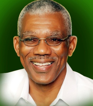 His Excellency, President David Arthur Granger
