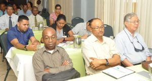 Some participants at the national stakeholder consultation for regional coconut industry development.