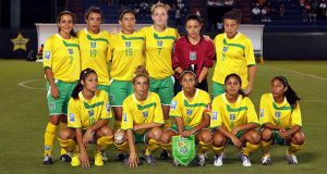 Flashback! Guyana's female football team at the 2010 CONCACAF Gold Cup in Mexico