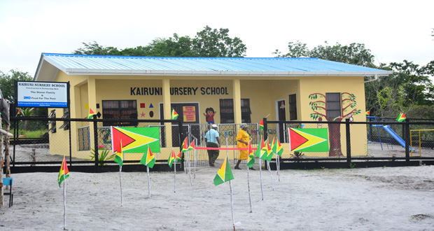 FFTP commissions $10M nursery school at Kairuni