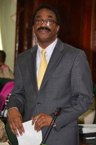 Attorney-General and Minister of Legal Affairs, Mr Basil Williams