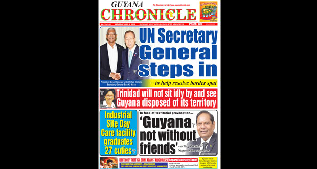 Guyana Chronicle E-Paper 2015-07-04