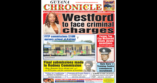 Guyana Chronicle E-Paper 2015-07-29