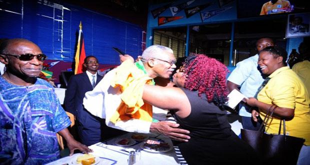 Invest in homeland — President Granger urges Guyanese in Barbados