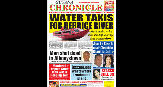 Guyana Chronicle E-Paper 2015-09-05