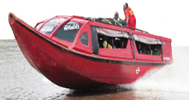 WATER TAXIS FOR BERBICE RIVER – Gov't mulls service amid standoff in bridge toll reduction