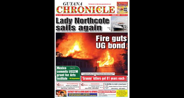 Guyana Chronicle E-Paper 11-24-2014