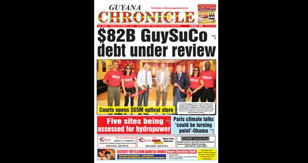 Guyana Chronicle E-paper 12-1-2015