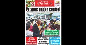 Guyana Chronicle E-Paper - 04/30/2016
