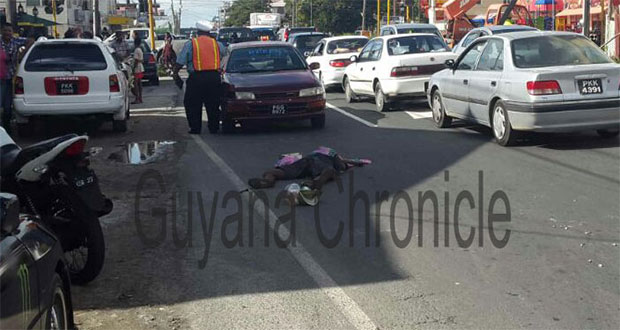 Man crushed to death on Sheriff Street - Guyana Chronicle
