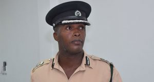 Deputy Director of Prisons, Gladwin Samuels