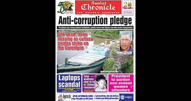 GUYANA CHRONICLE E-PAPER - 5/29/2016