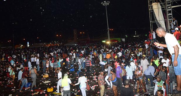 Pandemonium ends Banks Jubilee Fest