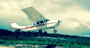 One of the Cessna 206 aircraft at the centre of the matter