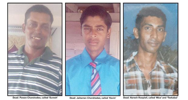 7 more detained in Black Bush triple murder
