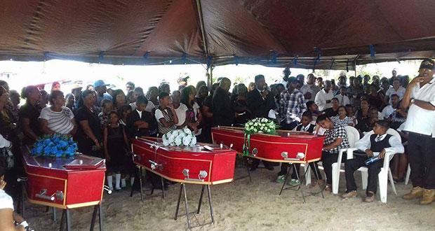 Hundreds at funeral of men killed in Black Bush